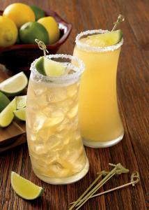 Tropical Malibu Rum and Limeaide